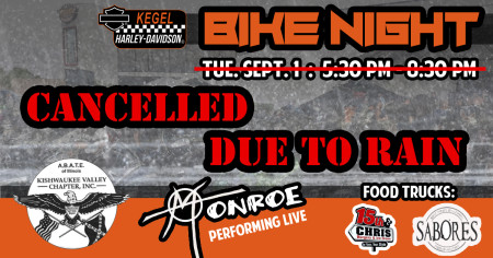 CANCELLED - ABATE of IL Bike Night