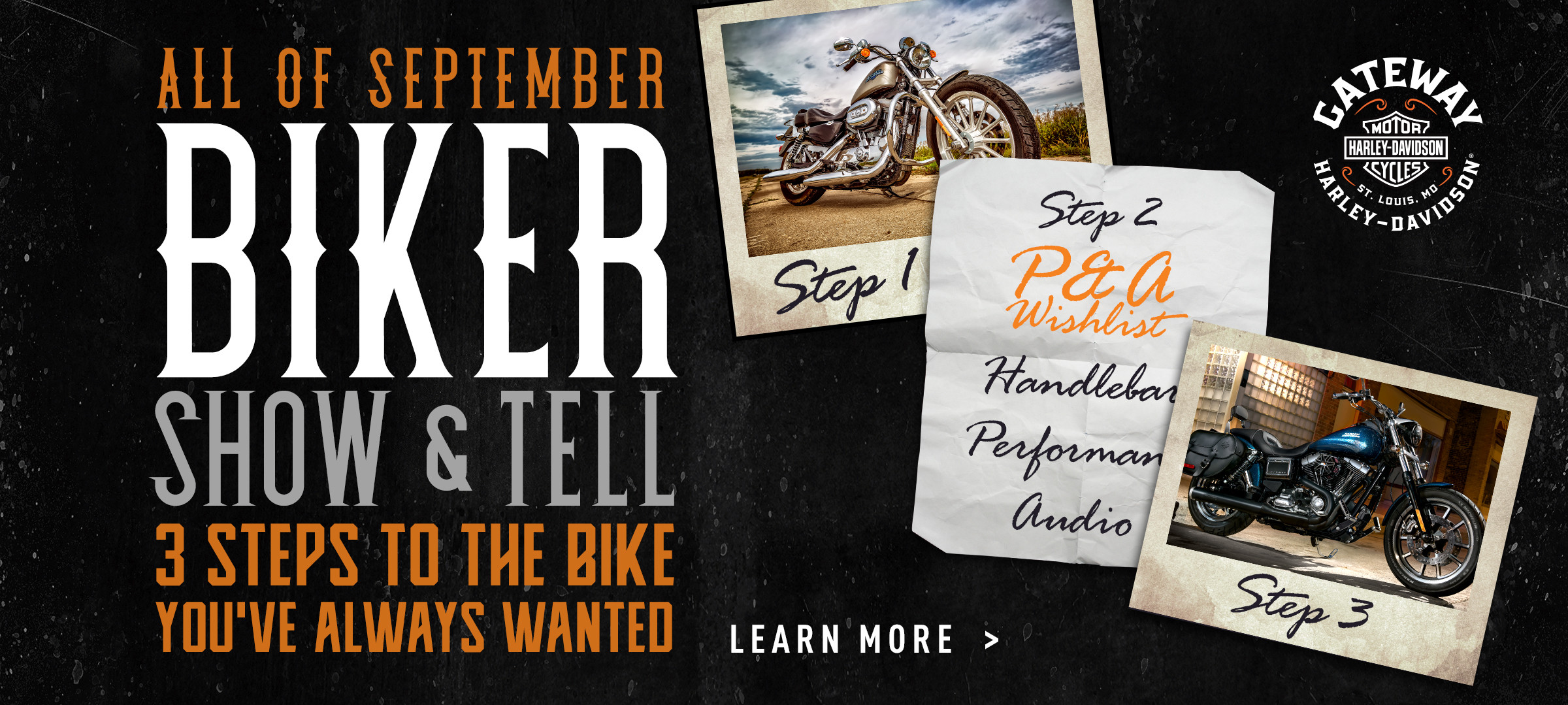 Biker Show and Tell