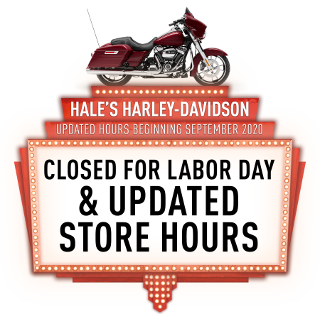 Closed for Labor Day & Updated Store Hours