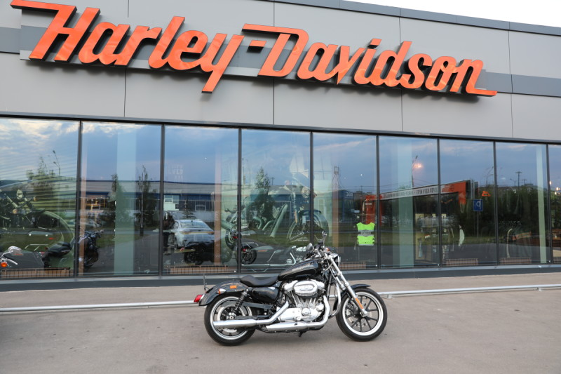 Sportster Super Low XL883L 2015 год