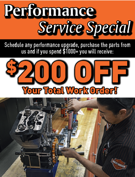 Performance Service Special