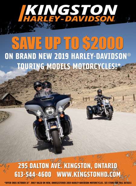 New Incentives on 2019 Harley-Davidson Models!