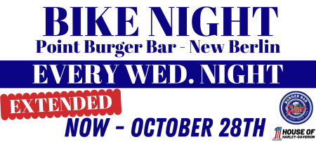 Bike Night at Point Burger Bar - EXTENDED