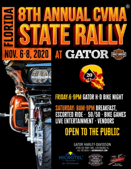 8th Annual CVMA Florida State Rally