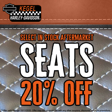 Select In Stock Aftermarket Seats 20% OFF