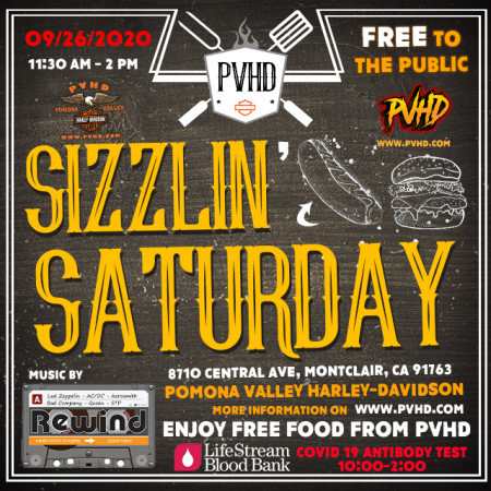 Sizzlin' Saturday at PVHD