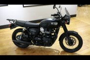 Used 2019 Triumph Bonneville In Matte Black T100