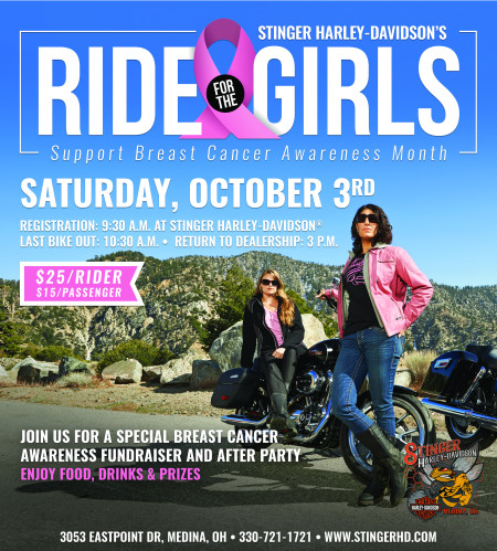 Ride for the Girls - Breast Cancer Ride