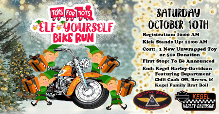 Toys For Tots - Elf Yourself Bike Run