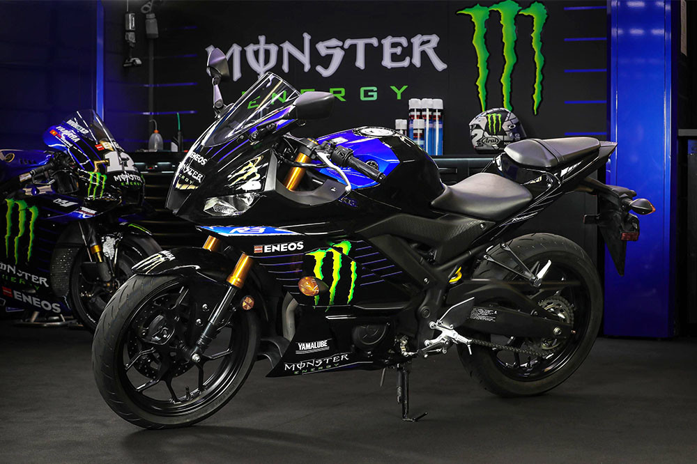 2021 YZF-R3 Monster Energy Yamaha MotoGP Edition Instagram image 2