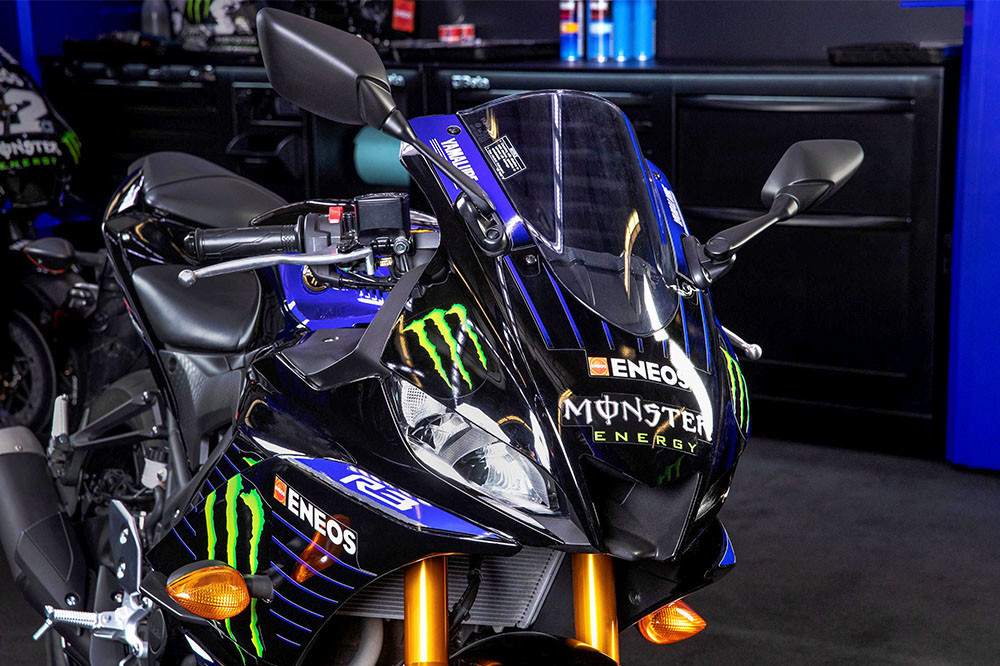2021 YZF-R3 Monster Energy Yamaha MotoGP Edition Instagram image 3