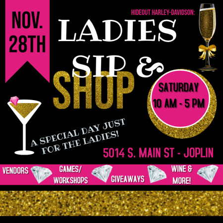 Ladies Sip -N- Shop