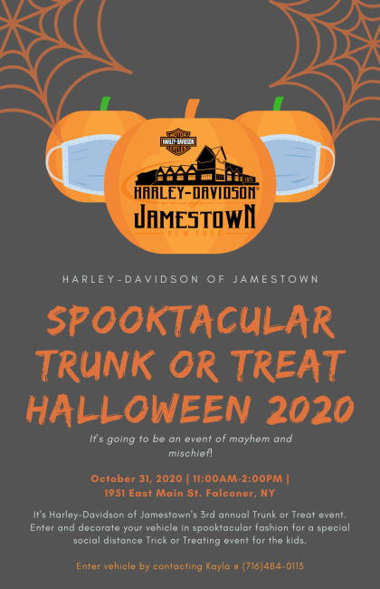 SPOOKTACULAR TRUNK OR TREAT EVENT