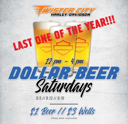 Dollar Beer Saturday with Angel Gabrielle