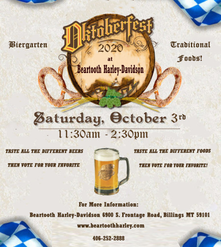 Oktoberfest 2020 at Beartooth Harley-Davidson!