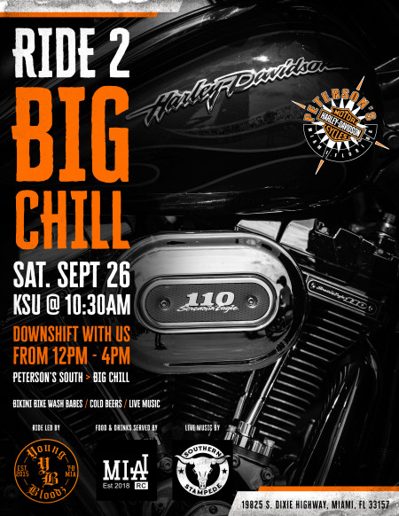 Ride 2 Big Chill