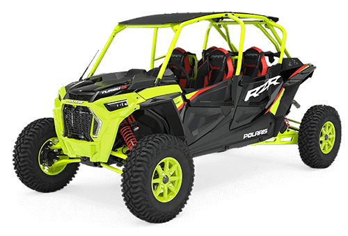 2021 RZR Turbo S 4 Lifted Lime LE