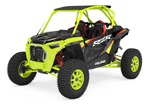 2021 RZR Turbo S Lifted Lime LE