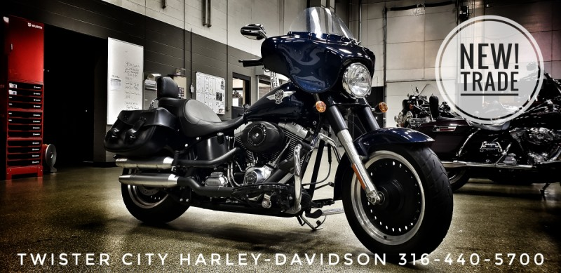 2012 Harley-Davidson® Fat Boy® Lo : FLSTFB103 for sale near Wichita, KS