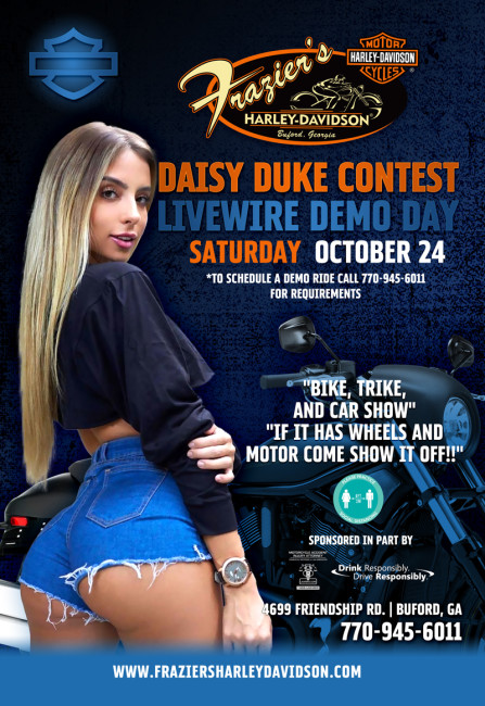 Miss Daisy Dukes & Bike, Trike, & Car Show