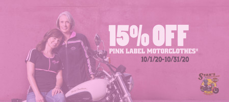 15% Off Pink Label Items.