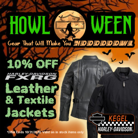 10% Off FXRG Leather & Textile Jackets