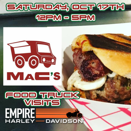 Mac's Food Truck At Empire Harley-Davidson