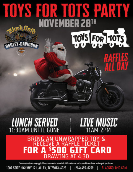 Toys for Tots Party