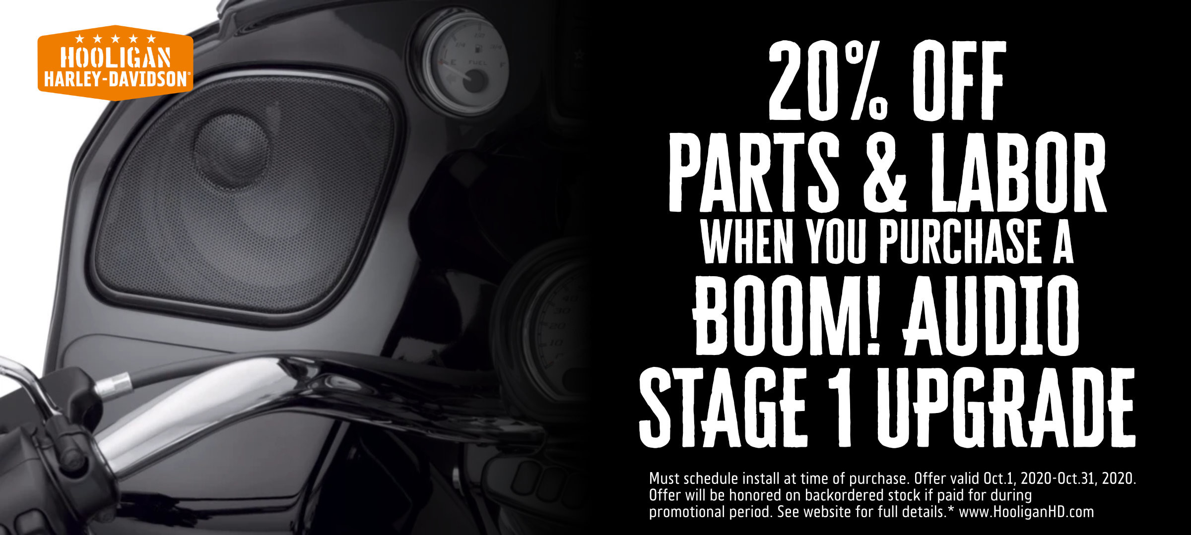 Save 20% Off Boom!