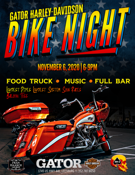 Bike Night | Gator H-D