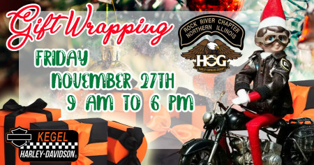 Gift Wrapping by Rock River HOG