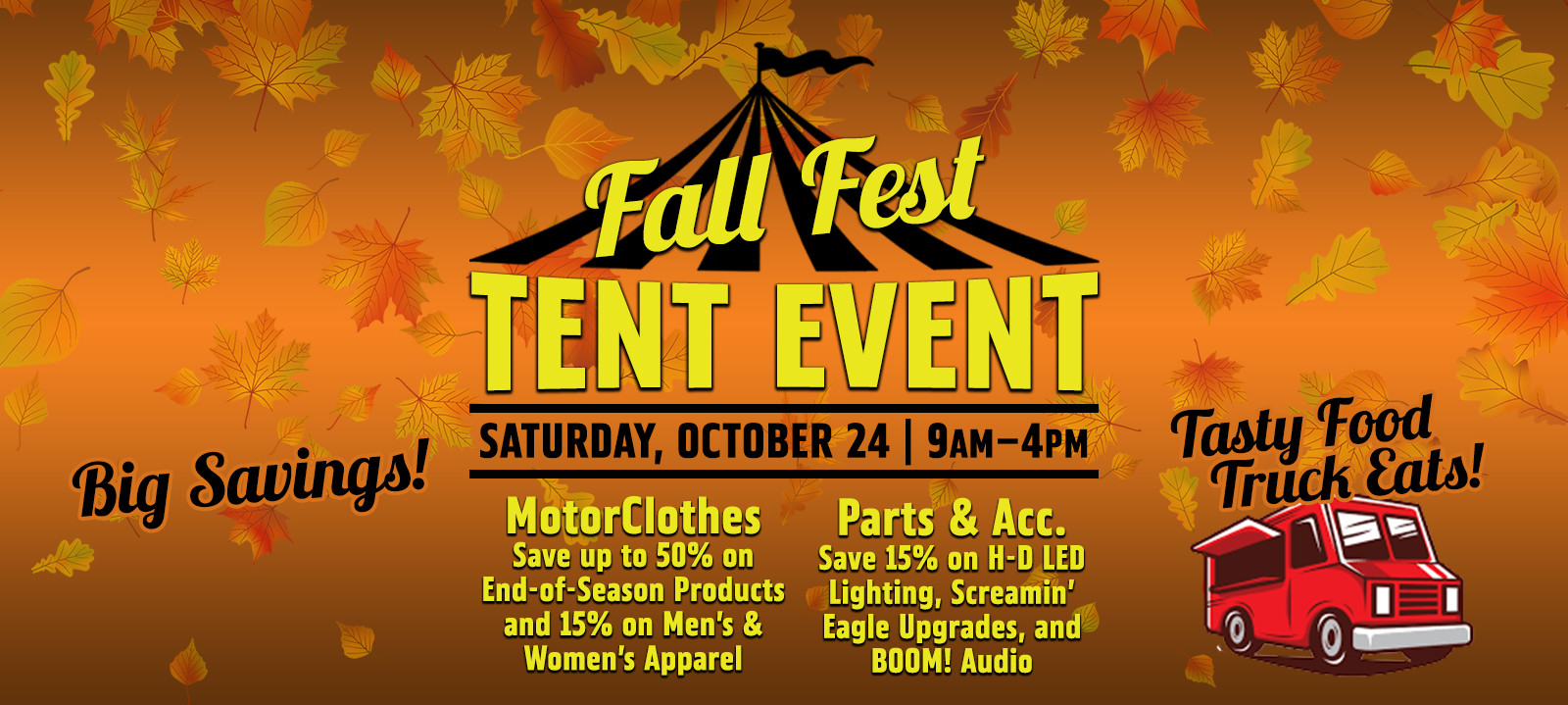 Fall Fest Tent Event