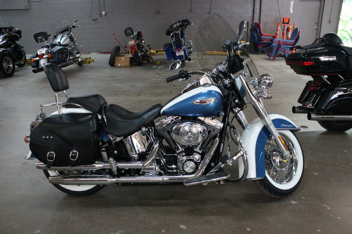 2005 Harley-Davidson Softail Deluxe FLSTNI   Used ...