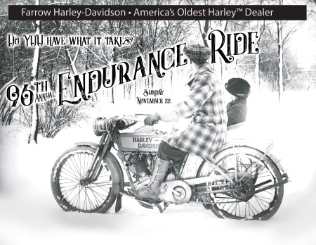 The Oldest Harley Ride in America - The Endurance Ride