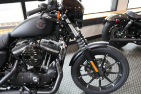 Used 2020 Harley-Davidson® Sportster Iron 883 Cruiser In Matte Black thumb 0