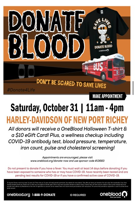 Blood Drive New Port Richey HD