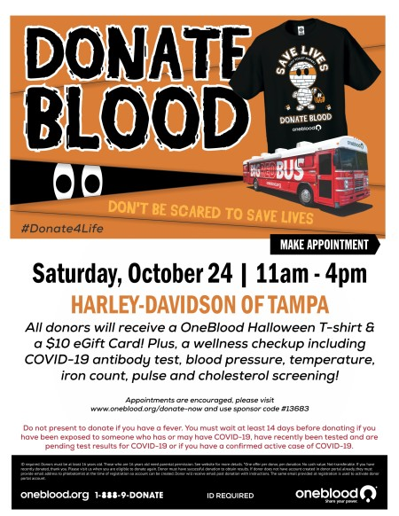 Blood Drive Tampa HD