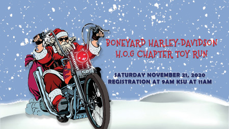 Boneyard HOG Chapter Toy Run