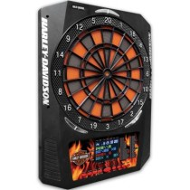 Bar & Shield Flaming Electronic Dart Board (722969619696)