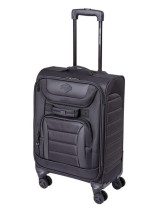 Mens B&S Onyx Quilted 27'' Carry-On Black Luggage (609529922611)