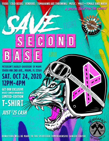 SAVE SECOND BASE!