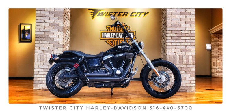 2011 Harley-Davidson® Street Bob® : FXDB for sale near Wichita, KS