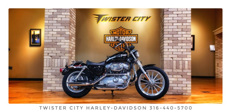 2003 Harley-Davidson® Sportster® 883 Hugger : XLH 883 HUG for sale near Wichita, KS