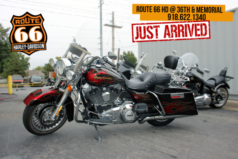 Black 2013 Harley-Davidson® Road King® FLHR103