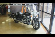 Black 2017 Harley-Davidson® Road King® FLHR