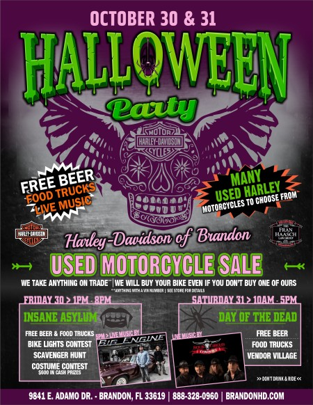 Halloween Party - OCT 30 & 31