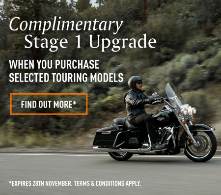 Complimentary Stage 1 Performance Upgrade - Selected Touring Models