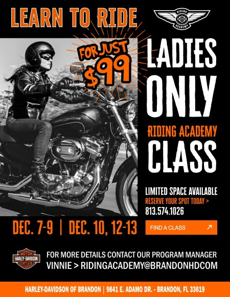 Ladies Only Riding Academy Class
