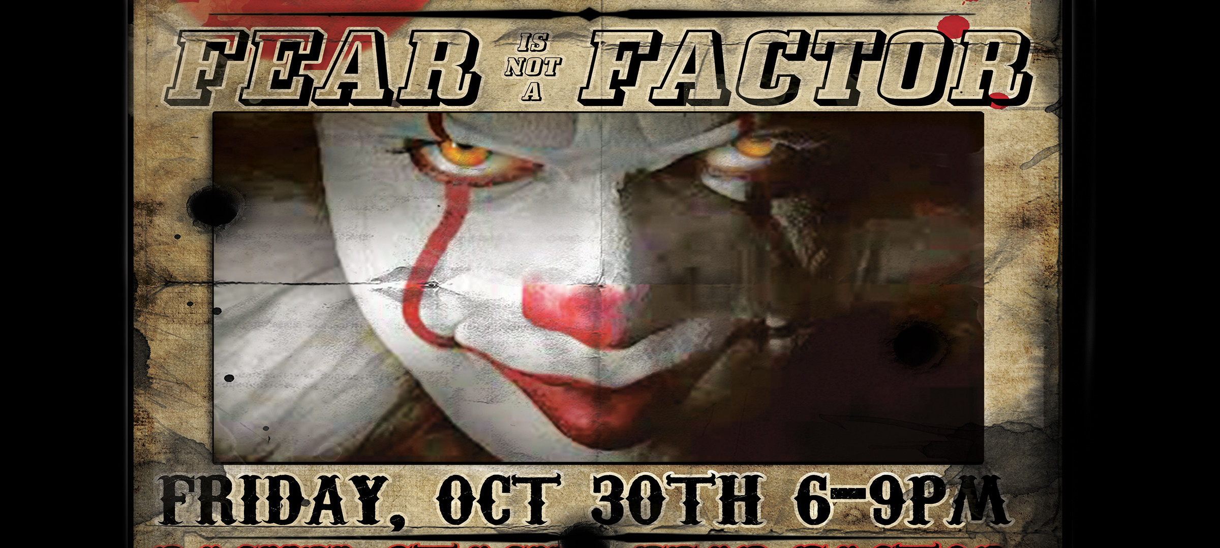 FEAR IS NOT A FACTOR HALLOWEEN BIKE NIGHT!!