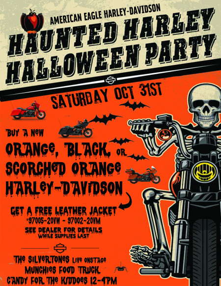 Haunted Halloween Party @ American Eagle